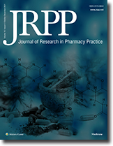 Journal of Research in Pharmacy Practice